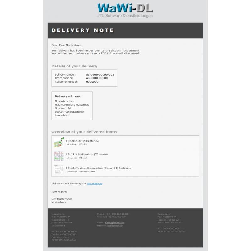 jtl wawi email vorlagen html englisch design 01 wawi. Black Bedroom Furniture Sets. Home Design Ideas