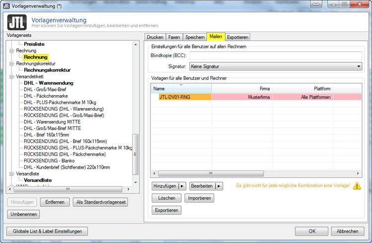 JTL Wawi Email-Vorlage HTML (Design 01) Versandbestätigung, WaWi-DL ...
